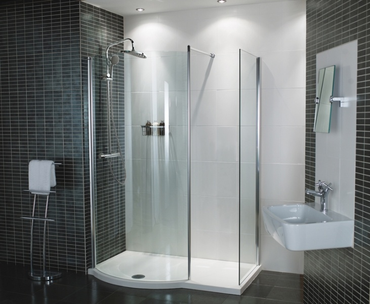 Best Walk In Shower Solutions Images On Pinterest Bathroom - Modern bathrooms roman showers
