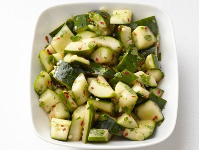 Spicy Asian Cucumbers - Smackchow.com