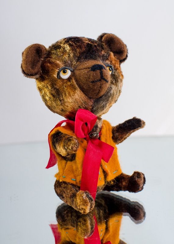 Teddy Bear Potap . Artist Bear. Series Tadpoles.The price includes shipping