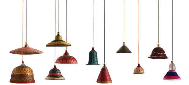 Recyclage + Artisanat + Design  _PET Lamp   Uniendo reciclaje, artesanía y diseño