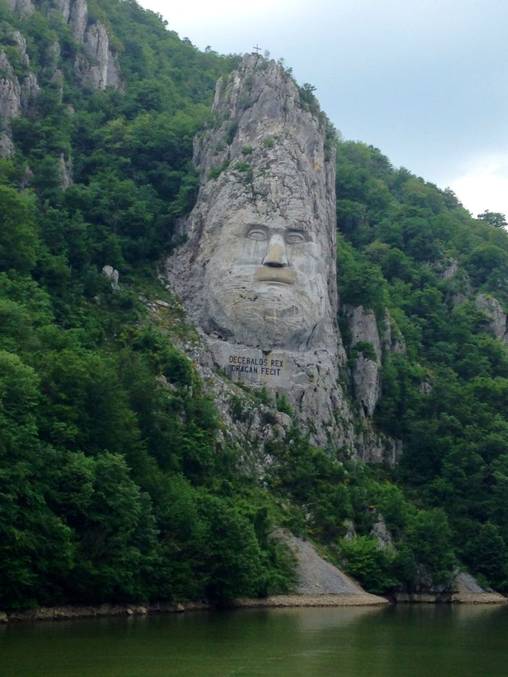 Statue of Decebal, Romania