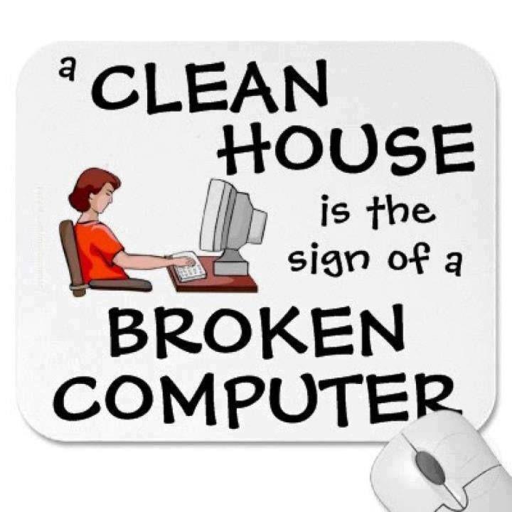 Broken computer: