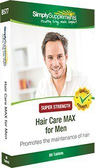 cool Hair Care MAX para hombres | 16 vitaminas y minerales combinados para el crecimiento del cabello masculino | Con Biotina y Zinc | 60 comprimidos | Simply Supplements Precio e informacion en la tienda: http://www.comprargangas.com/producto/hair-care-max-para-hombres-16-vitaminas-y-minerales-combinados-para-el-crecimiento-del-cabello-masculino-con-biotina-y-zinc-60-comprimidos-simply-supplements/