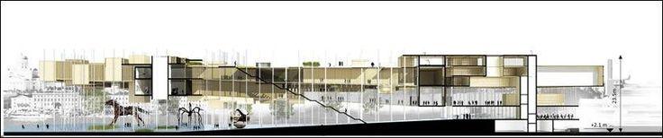 32 списанных проектных предложений для музея Гуггенхайм в Хельсинки