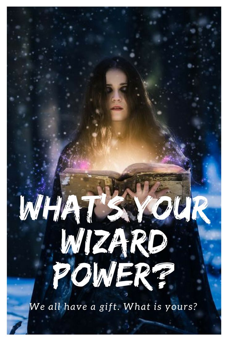 You might look good in a black robe, but as anyone knows who has ever read a good fantasy book or seen a movie with that theme, all wizards are not created equal. If you were a wizard, how would you get down with yourself?