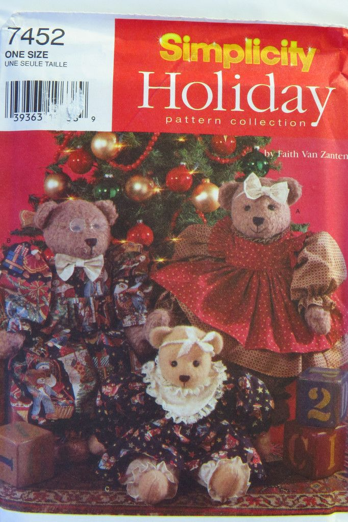 170 best Christmas Craft and Sewing Patterns images on Pinterest ...