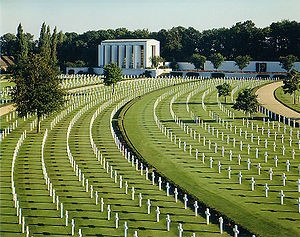 the only World War II American military cemetery in the United Kingdom.