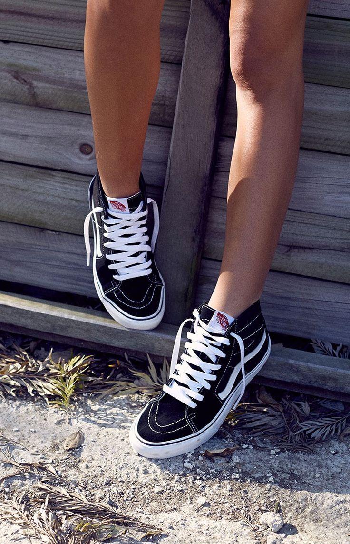 Vans Sk8-Hi Sneaker Black Más