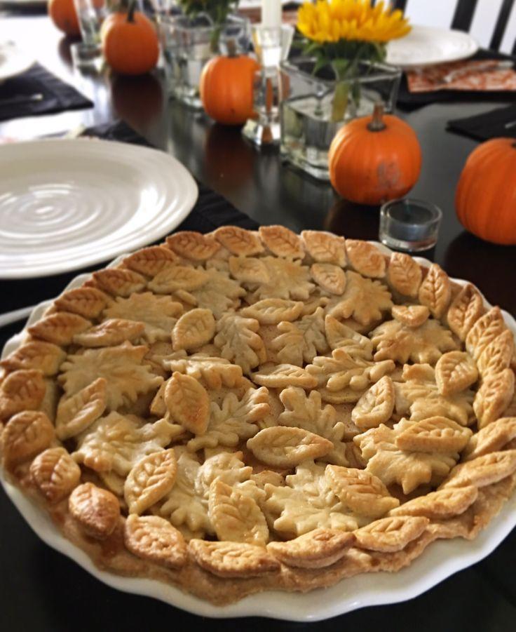 Happy Thanksgiving! Apple pie a la mode for dessert