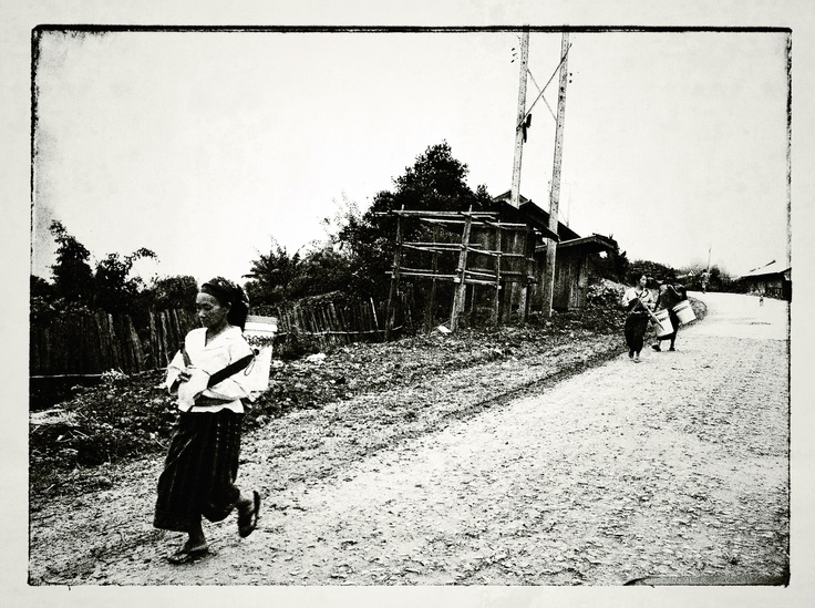 On trip to lao