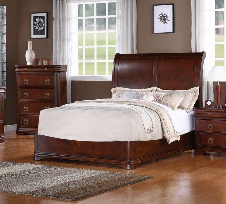 Dark Cherry Wood Bedroom Furniture Sets. Furniture Sets ...