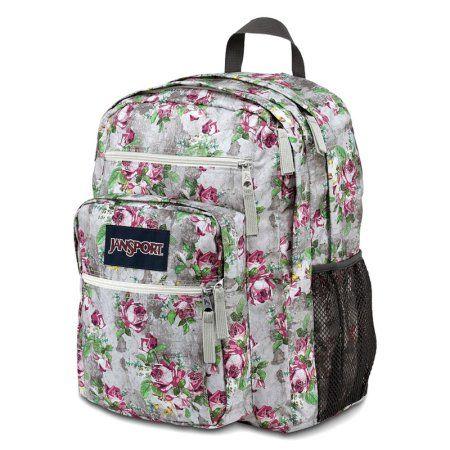 Free Shipping. Buy Jansport Big Student Gray Floral Backpack Bag School Book Storage daypack at Walmart.com