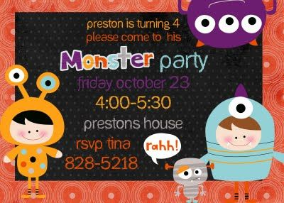 538 best images about Parties Monsters Inc Monsters University – Monster Party Invites