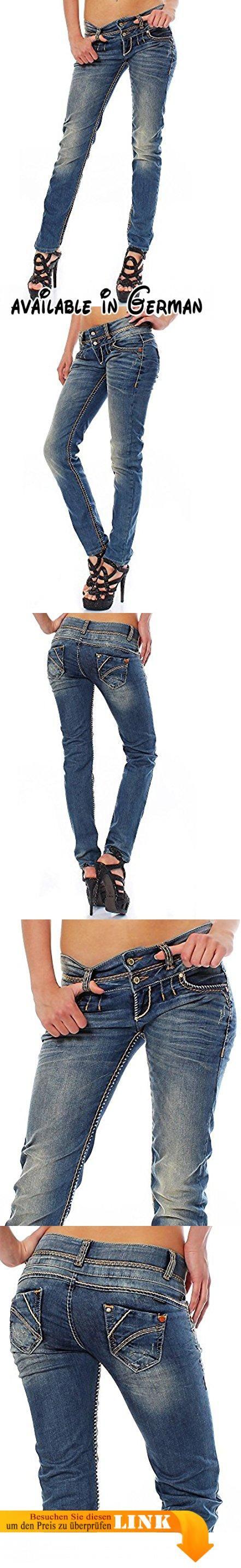 Cipo & Baxx Damen Jeans CBW-347 Slim-Fit 25/30.  #Apparel #PANTS