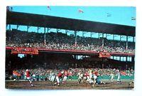 Vtg 1961 POSTCARD, St Louis CARDINALS FOOTBALL At SPORTSMANS PARK,Busch Stadium