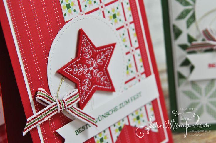 born2stamp STAMPIN' UP! Team Weihnachtsfeier Projekt 1.2