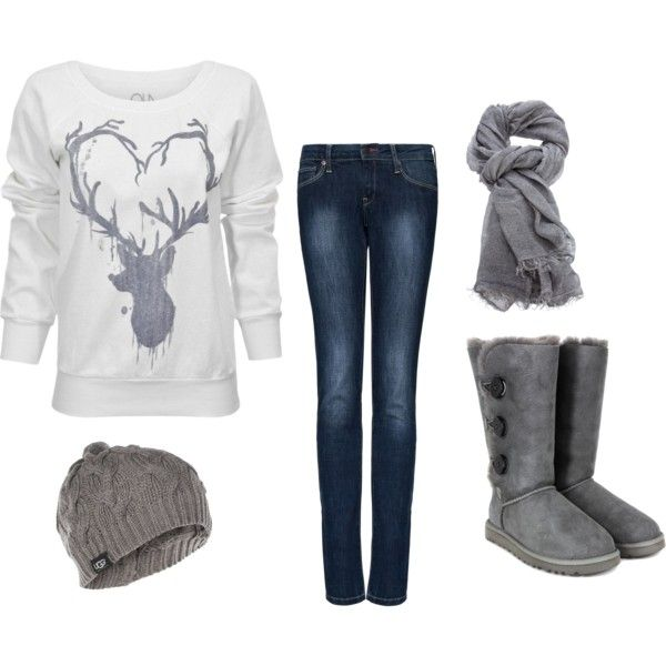 Or maybe the  long gray uggs with black buttons:) Brandi