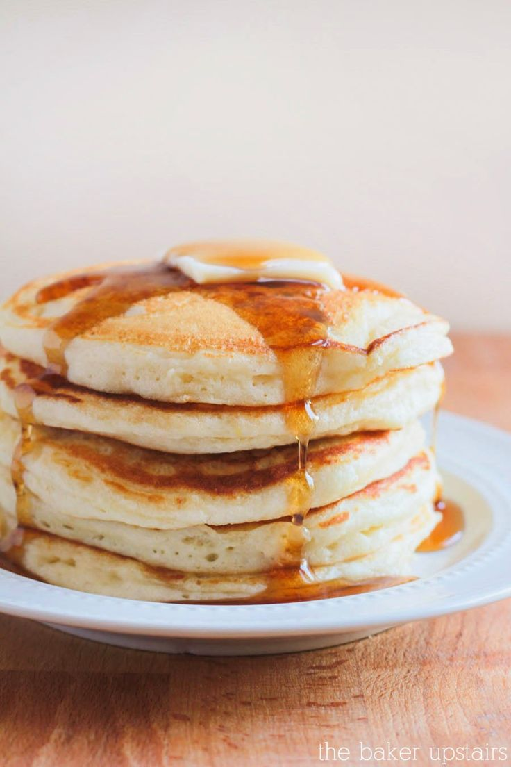 the baker upstairs: perfect pancakes