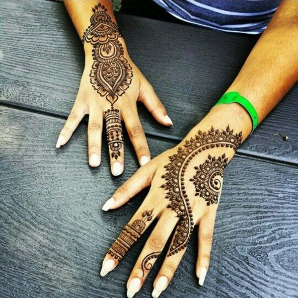 Simple and Easy Henna Art for Girls 2016