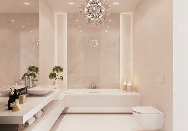 lovely-white-bathroom - COLORES E ILUMINACIÓN (NT)