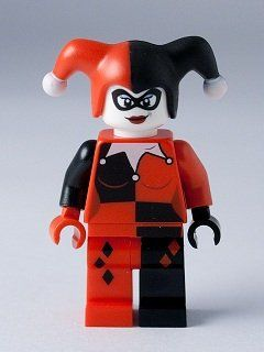 Amazon.com: Harley Quinn - Lego Batman Minifigure 2012 Version: Toys & Games