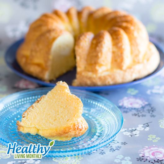 Celestial Angel Food Cake from the October 2015 issue of Healthy Living Monthly newsletter: https://gum.co/sOvPr