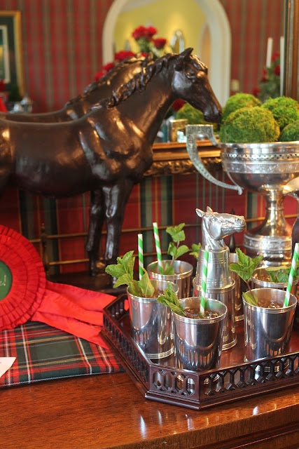 Perfect for a Kentucky Derby party, mint juleps and all! Gorgeous arrangement.. Visit us at http://www.grayhawkhomesinc.com/index.html for tips on how to enjoy your new Grayhawk Home better.