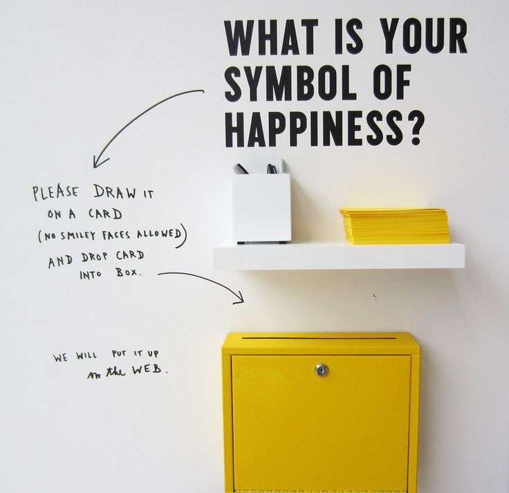 Stefan Sagmeister, The Happy Show  Social Media...                              …