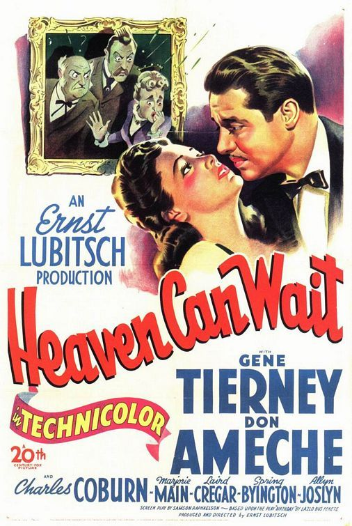 Heaven Can Wait (1943) - Gene Tierney