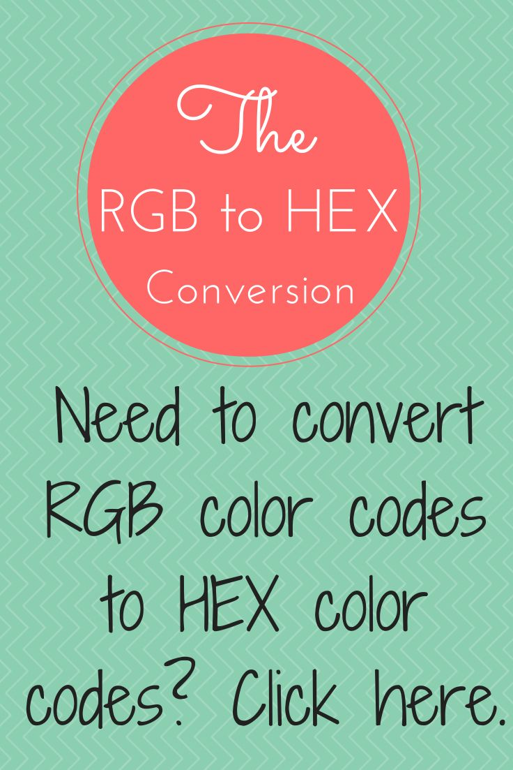 Die besten 25 color hex to rgb ideen auf pinterest rgb hex are you looking for a free site to convert rgb color codes to hex color codes nvjuhfo Images