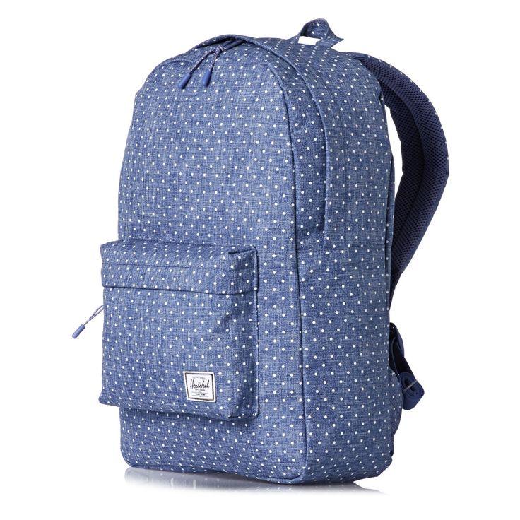 ✓ Herschel Classic Backpack - White Polka Dot
