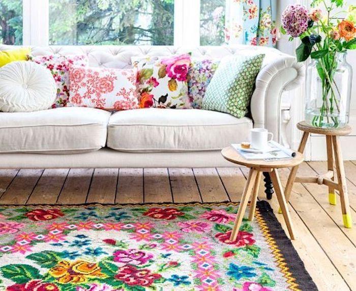 les 25 meilleures id es de la cat gorie rideaux shabby chic sur pinterest. Black Bedroom Furniture Sets. Home Design Ideas