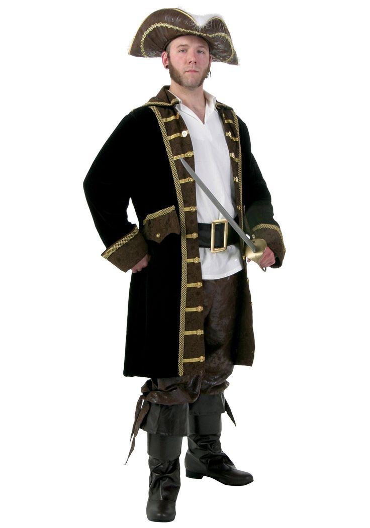pirate costumes for men | Men's Realistic Pirate Costume - Authentic Pirate Costumes
