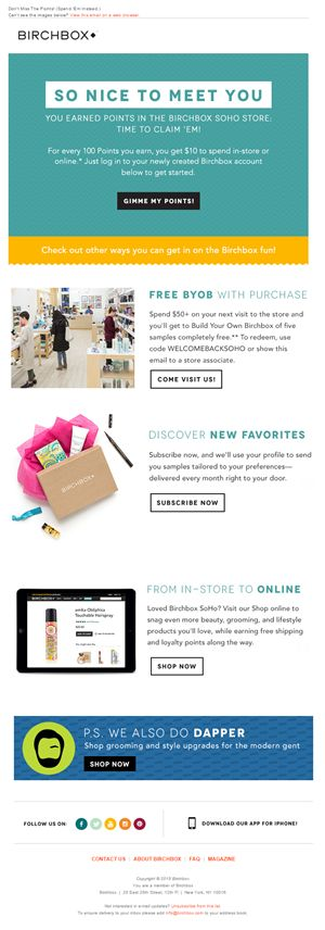 13 best welcome emails best email campaigns images on pinterest email campaign welcome. Black Bedroom Furniture Sets. Home Design Ideas