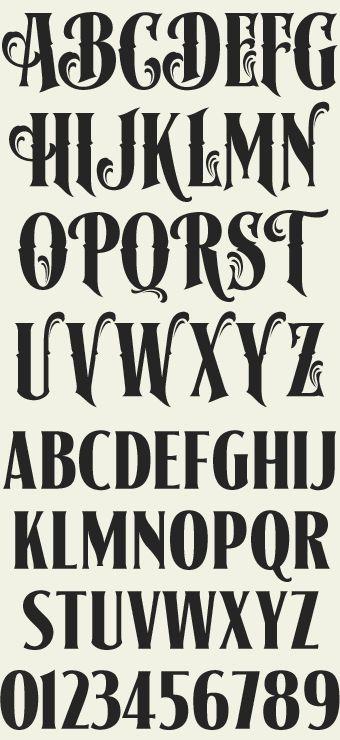 Best 25+ Vintage lettering ideas on Pinterest