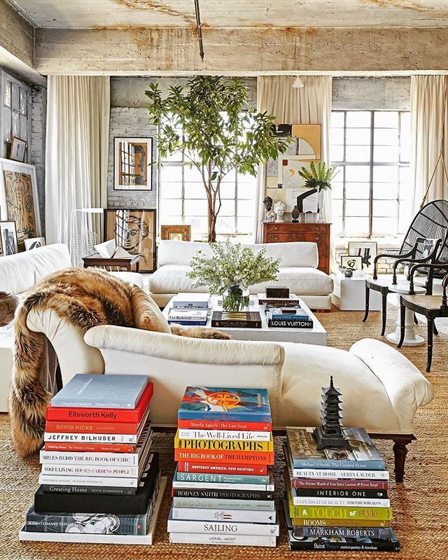 Laid back but elegant neutral living room with tactile appeal