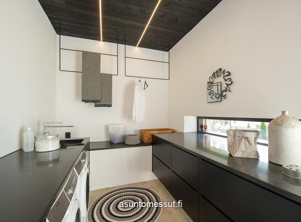 Lammi-Kivitalo Maja - Kodinhoitohuone | Asuntomessut