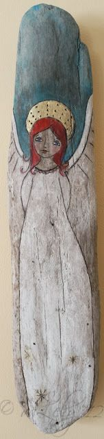 the very first one I created from driftwood  http://joycevanderlely-angelsatmytable.blogspot.co.nz/2012/11/introducing-drift-angelssold.html