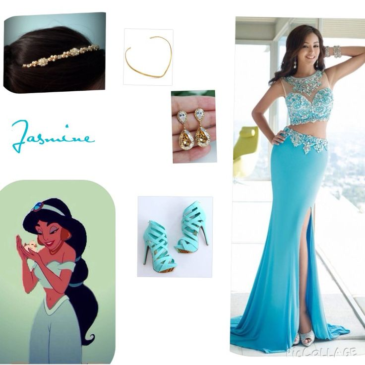 Jasmine inspired prom dress idea love this color