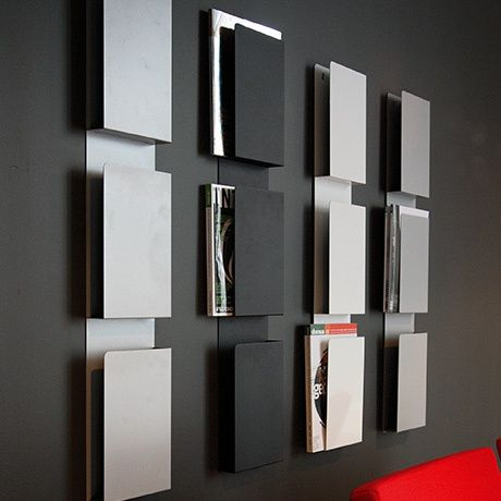 wand magazinhalter schwarz alt image three wohnung pinterest men cave. Black Bedroom Furniture Sets. Home Design Ideas