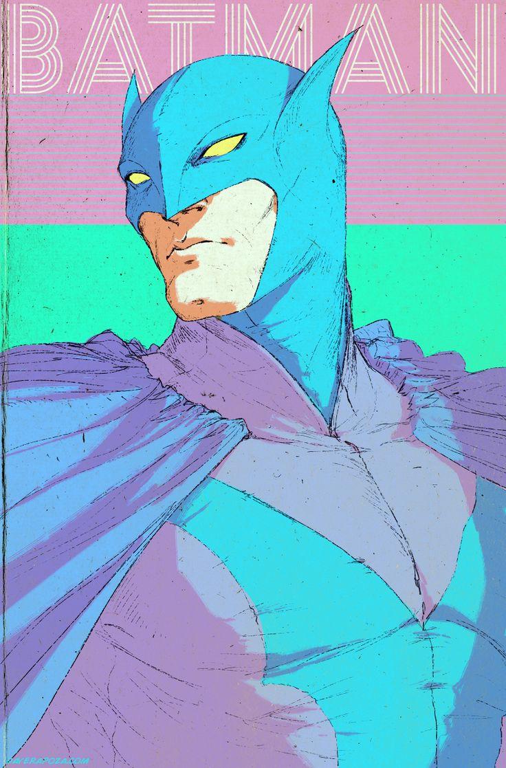 Batman Redesign by Dave Rapoza