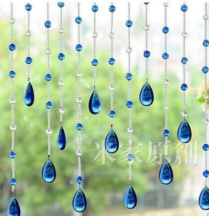 Esferas De Vidro De Cristal Vertentes Cortina Da Porta De Cristal Do Grânulo Cortina De Sombra Cortina Novo Patamar Pendurar Cortina Em Xixibuy