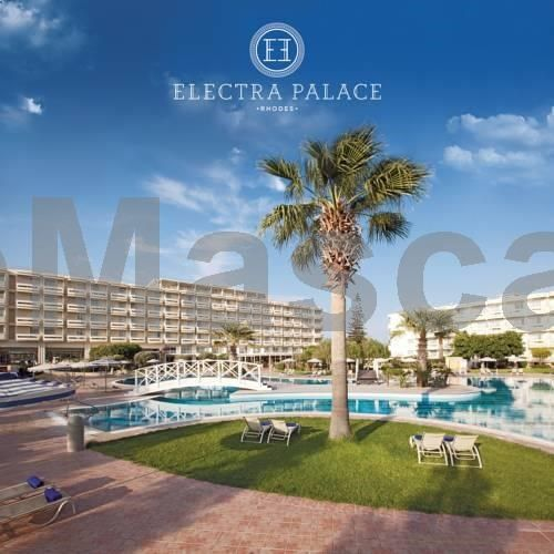Electra Palace Rhodes Ialyssos Beach Sitting on the western coast of Rhodes, the Electra Palace offers free sun beds at the pool and at the beach with waiter service, free open-air parking and elegant rooms with sea, pool or garden views.