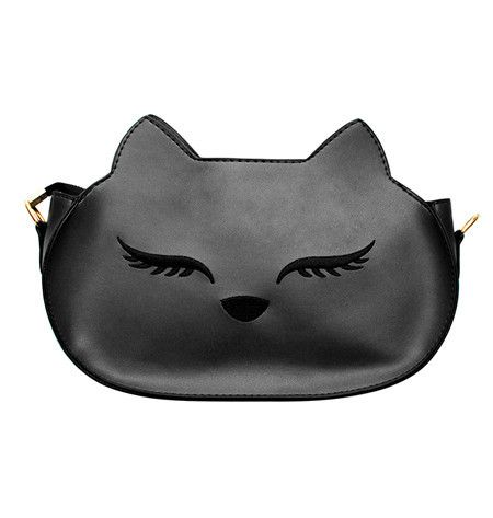 Purses come in all shapes and sizes, but are not all unique or interesting - Meowingtons' Chloe Cat Purse is just that and more. A chic, black cat purse that goes well with everything!