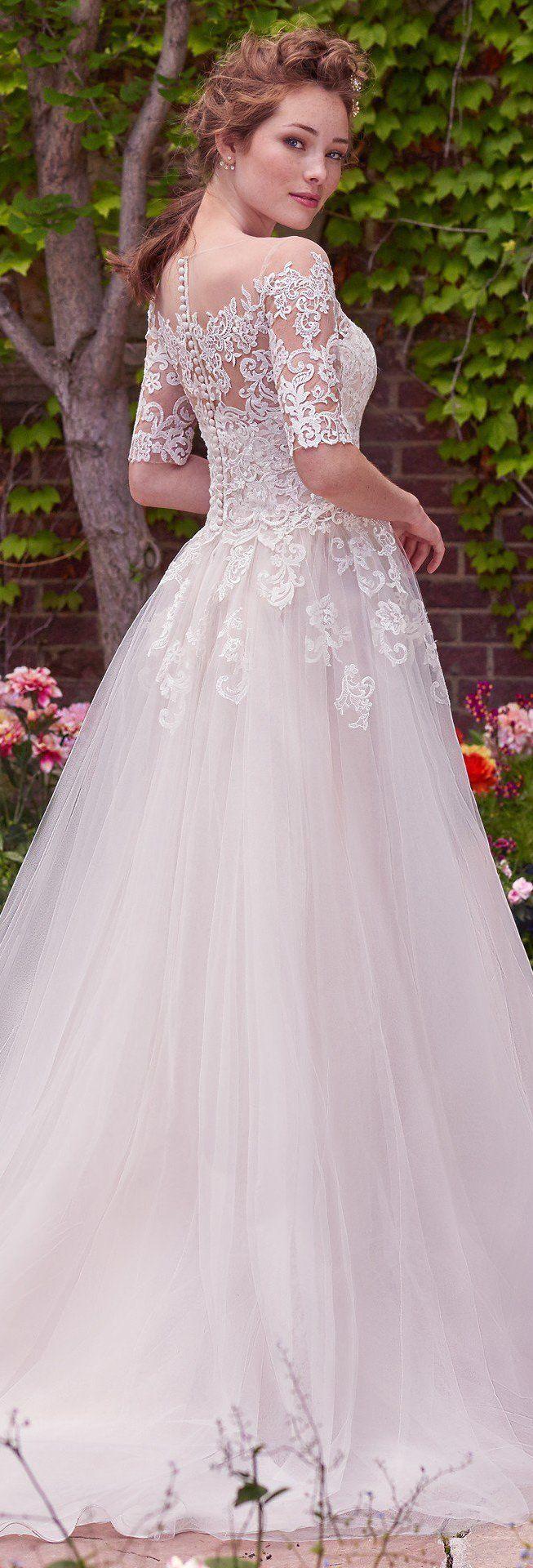 Wedding Dress by Rebecca Ingram - YVONNE | Less than $1,000 | #rebeccaingram #rebeccabride