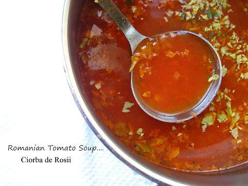 "Home Cooking In Montana: Romanian Tomato Soup... or ""Ciorba de Rosii"""