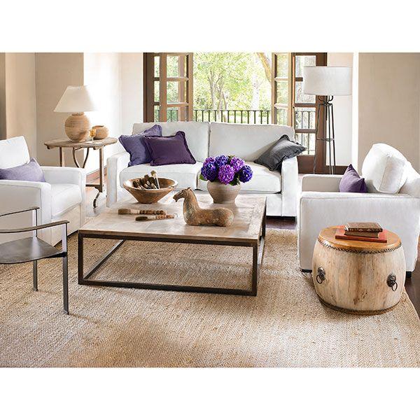 parquet coffee table u square