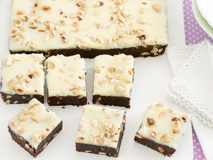 This quirky and quick brownie recipe needs no cooking and will freeze well to be popped into lunch boxes ... or for when you get the munchies and only something with chocolate will hit the spot.