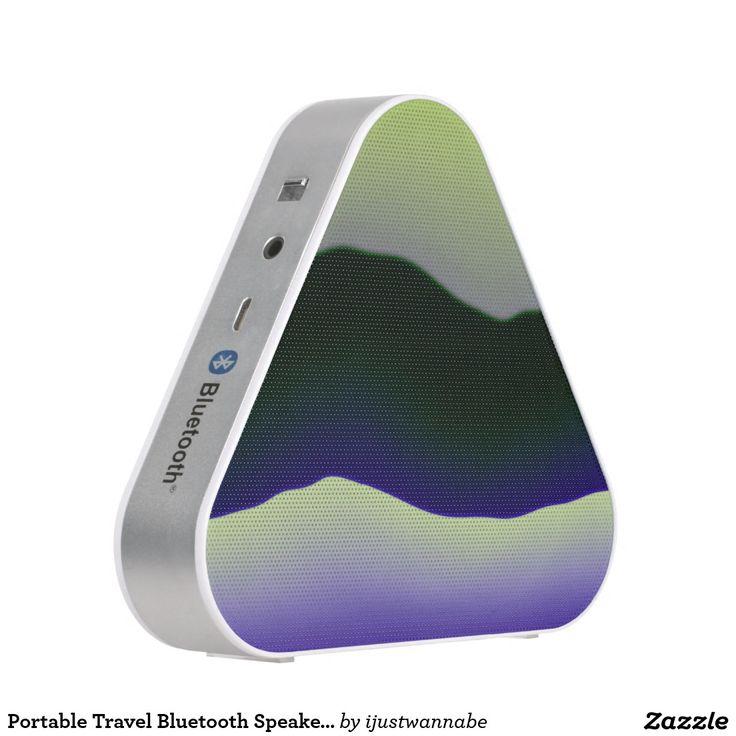 Portable Travel Bluetooth Speakers Travel speakers with beautiful original art printed onto Portable Travel Speakers. $55.85