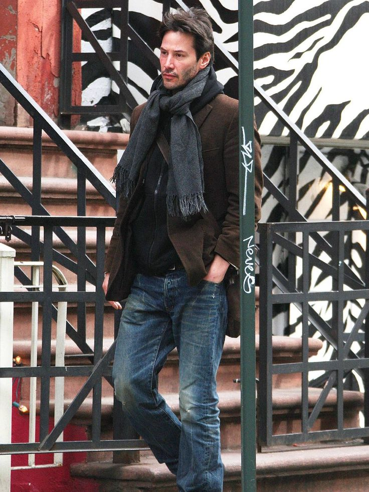 Keanu Reeves, si me lo encuentro por la calle me da un soponcio